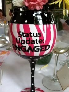 FL bridal shower cup