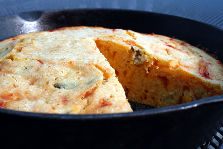 cheddar jalapeño cornbread