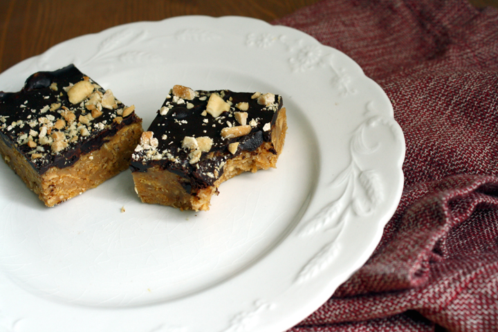 ... peanut butter no bake chocolate peanut butter corn flake bars