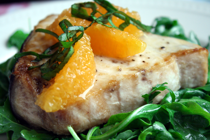 Citrus Swordfish