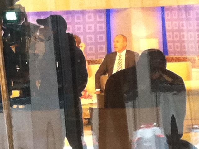 Today Show filming