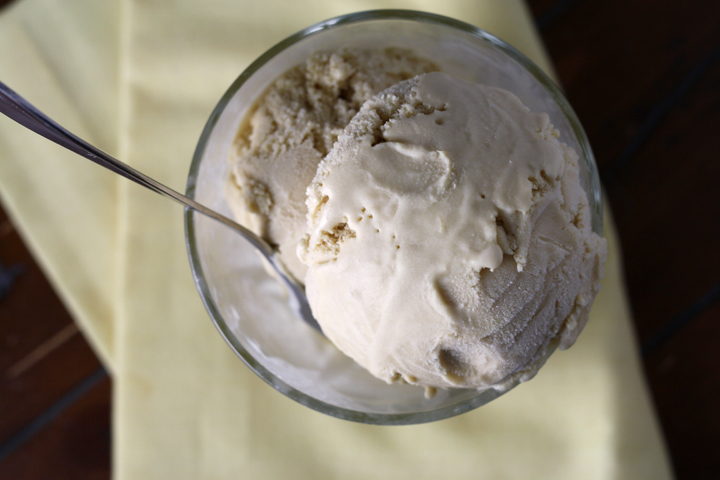 Butterscotch Ice Cream ~ ElephantEats.com