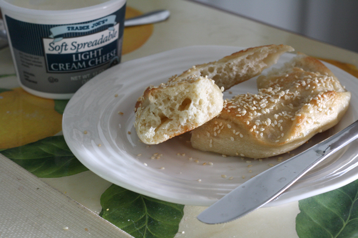 Homemade Bagels ~ ElephantEats.com