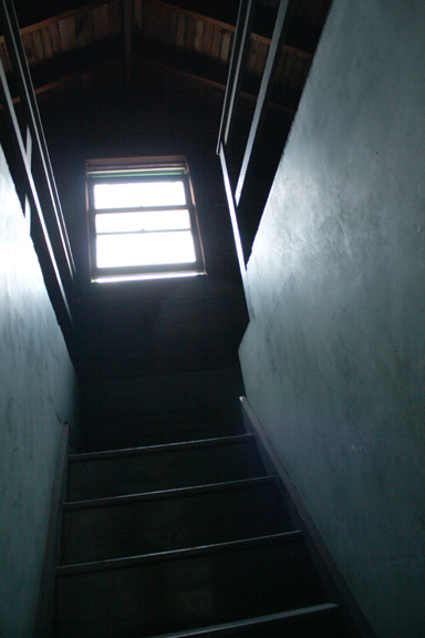 You Walk Up Some Stairs To A Landing, Turn Right And Continue Going Up The  Stairs. Hereu0027s Your View At The Top: