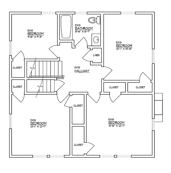SecondFloorplanBefore