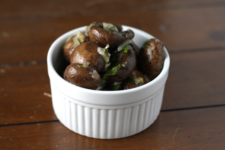 Marinated Mushrooms ~ ElephantEats.com
