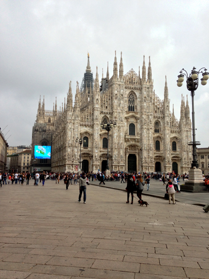 Milan Duomo ~ ElephanEats.com
