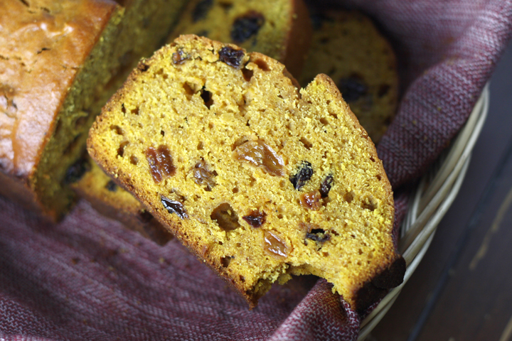 Pumpkin Spice Bread ~ ElephantEats.com
