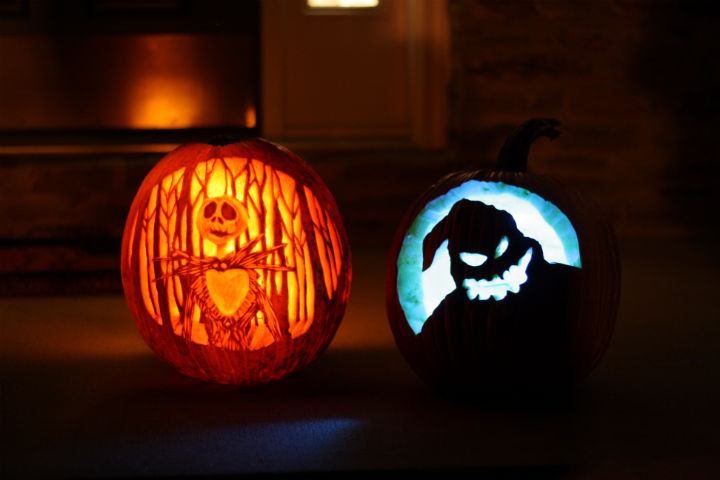 "My ""Nightmare Before Christmas"" Jack-o-Lantern…and some zesty ..."