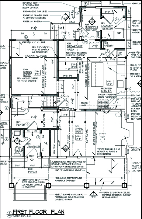 "First Floor Plan ""After"""