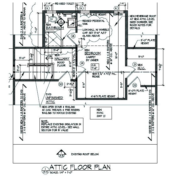 "Third Floor Plan ""After"""