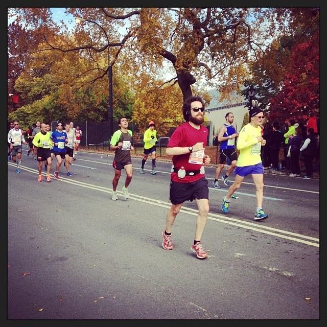 Nate's 2013 NYC marathon ~ ElephantEats.com