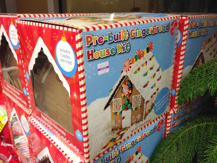 gingerbread house kit ~ ElephantEats.com