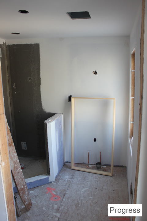 3rdFloorBath_Progress ~ ElephantEats.com